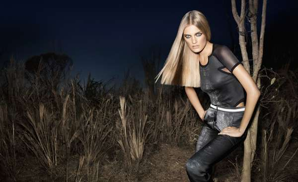 Nocturnal Savanna Fashion Ads