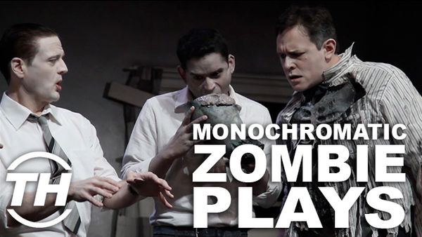 Live Monochromatic Zombie Plays