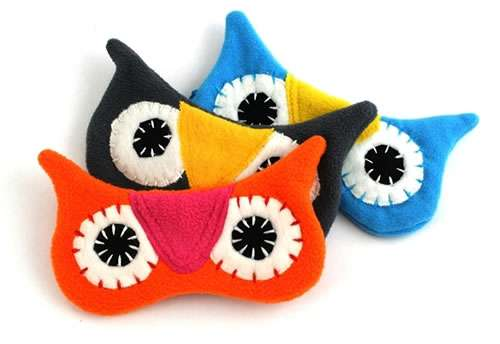 Hooting Eye Masks