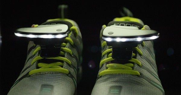 Illuminating Running Shoe Lights