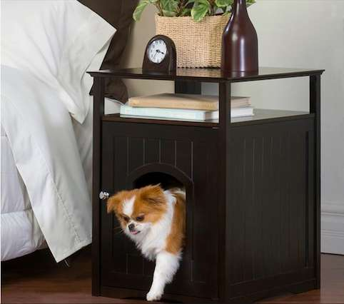 Pet Loving Bedroom Furniture Night Stand Pet House