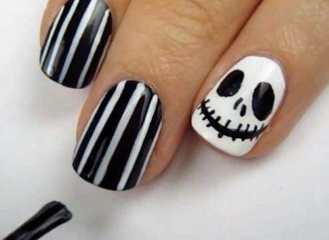 nightmare before christmas nails nightmare before christmas nails