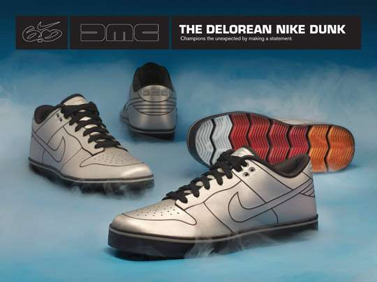 Nike 6-0 DeLorean Dunks