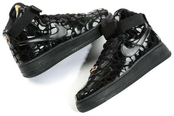 Embossed Croc Kicks