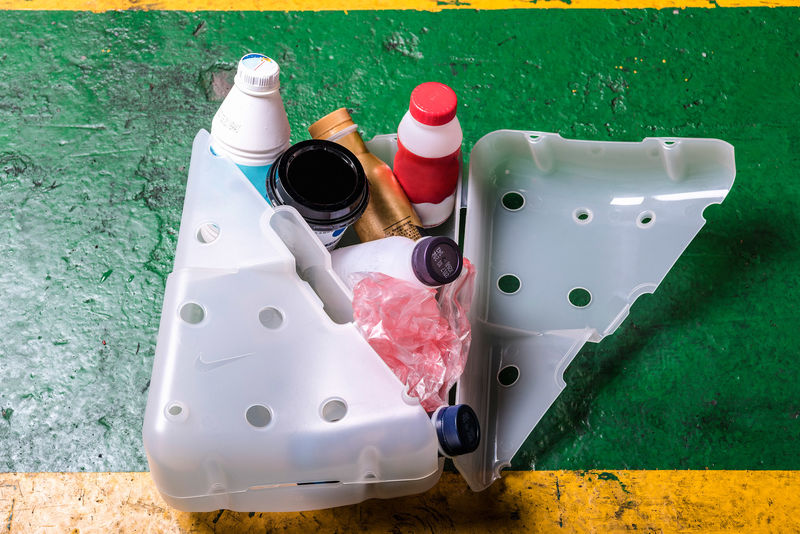 Recycled Sneaker Containers