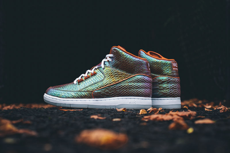 Shimmery Scaled Shoes