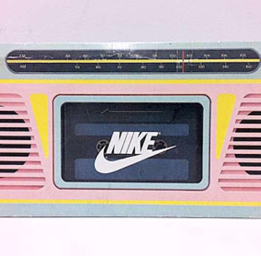 Vintage Sneaker Speakers
