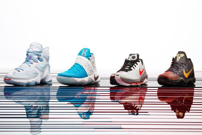 Festive Basketball Shoes