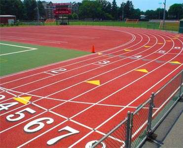 Nike Donates $500,000 Field Made of Recycled Running Shoes