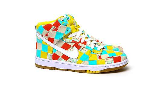Multicoloured Patchwork Kicks