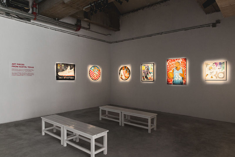 Basketball-Inspired Exhibitions
