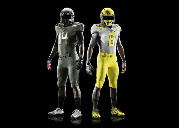 Military-Honoring Football Uniforms