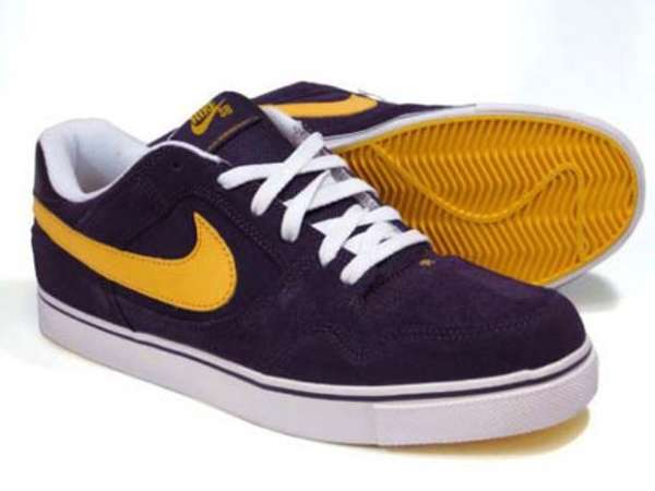 Laker-Lovin' Skate Shoes