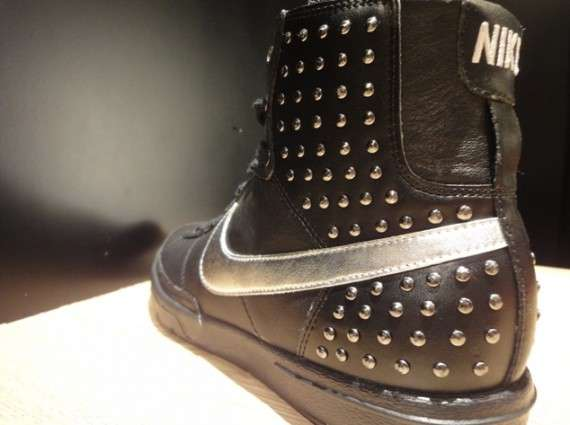 Studded High-Tops