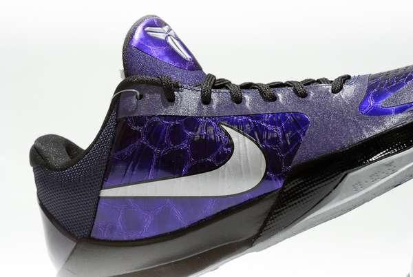 Iridescent Indigo Sneakers