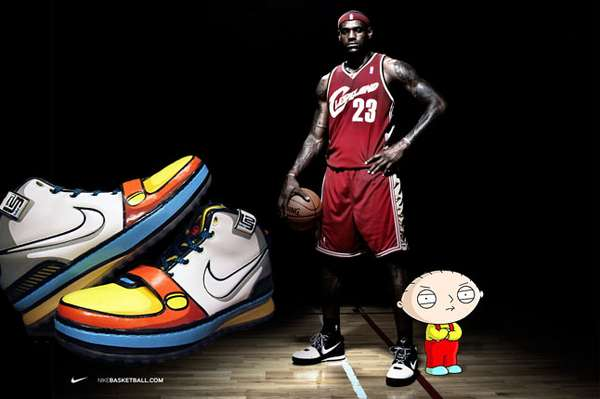 Nike LeBron James Stewie