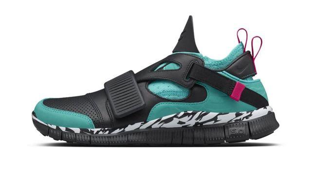 Blended Sneaker Designs