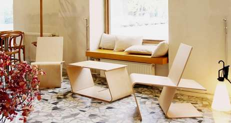 Multifunctional Slotted Chairs