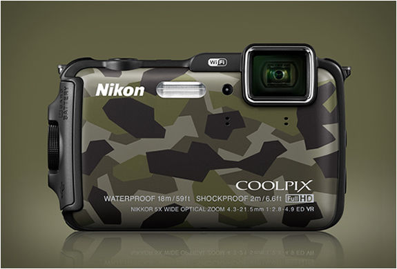 Army-Inspired Digital Cameras