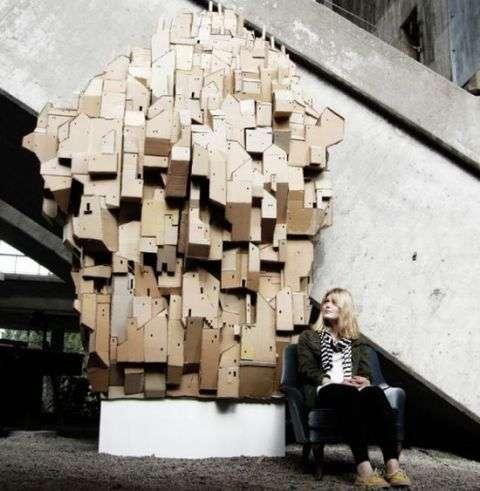 Towering Cardboard Castles