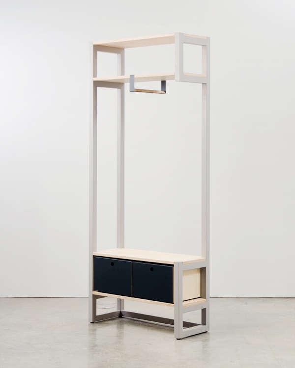 Visually Light Compact Furniture