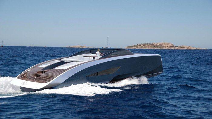 Racecar-Inspired Yachts