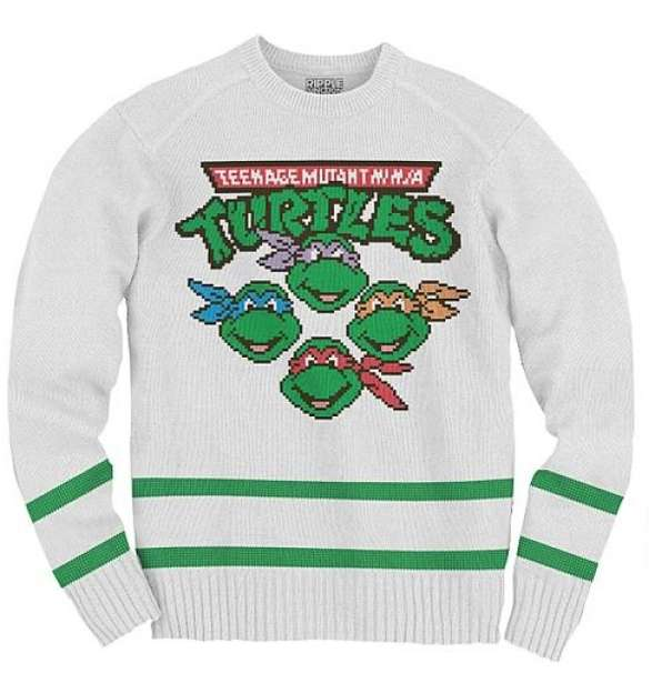 Ninja Turtle Knit Sweatshirt