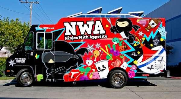 Espionage-Themed Food Trucks