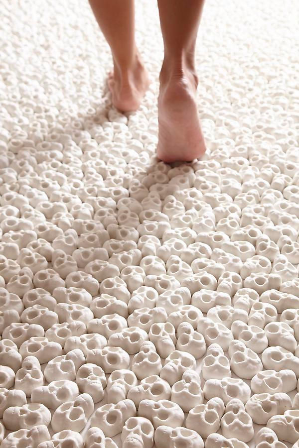 Skull Floor Installations
