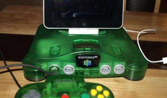 nintendo 64 rock docks