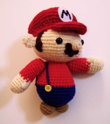 Knit Nintendo Toys