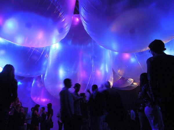 Interactive Bubble Installations