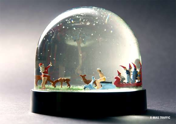 Funny Elfin Ornaments