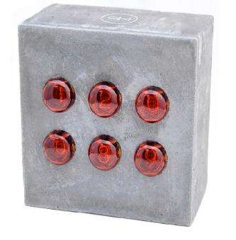Cinder Block Clocks