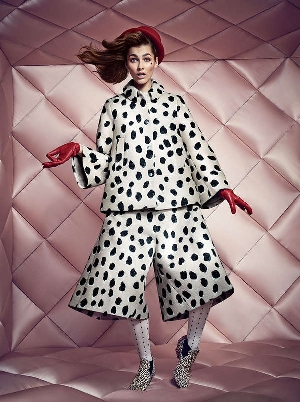 Stylishly Quirky Fashion Ads