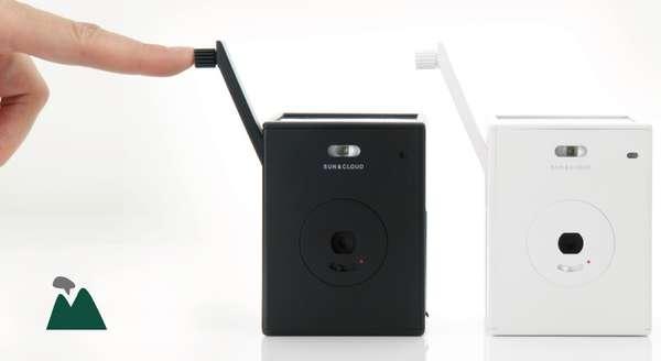 Solar-Powered Personal Cameras