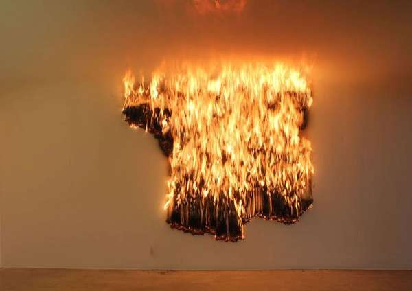 Combustible Matchstick Installations