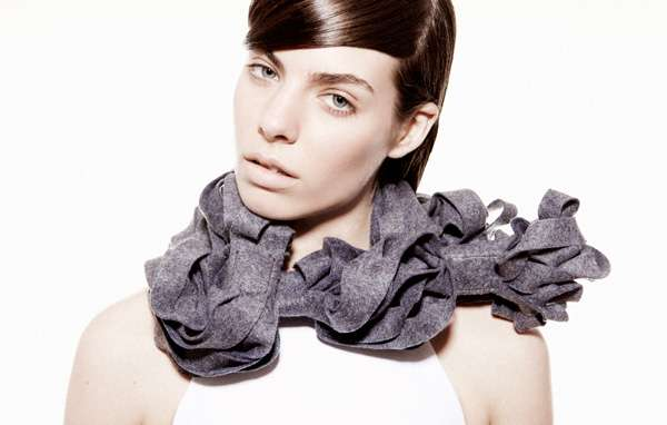 Moldable Magnetic Scarves