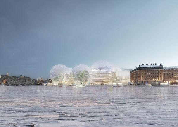 Bubbling Futuristic Buildings