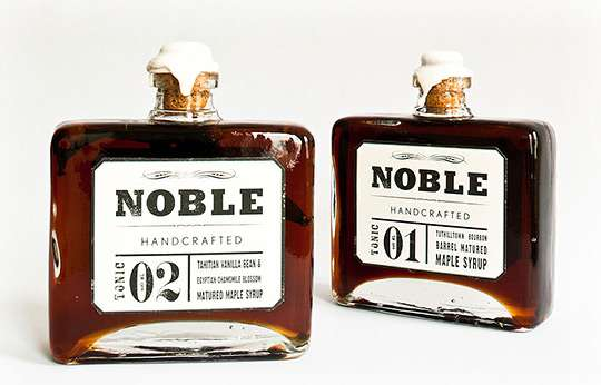Whiskey-Infused Syrups
