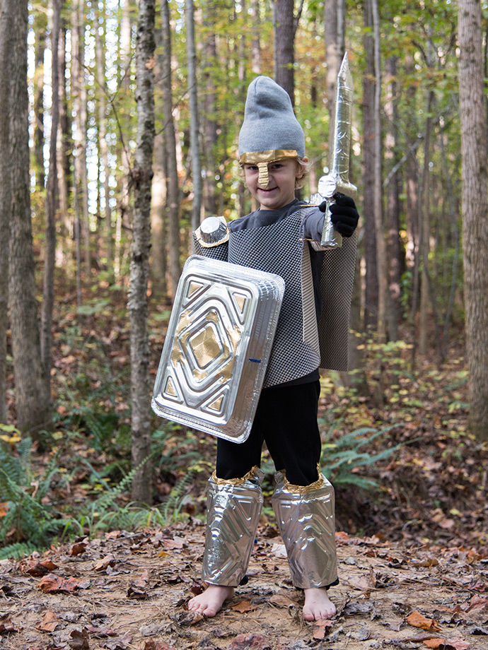 DIY Noble Knight Costumes