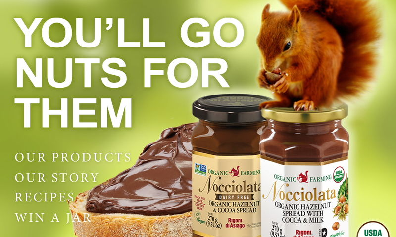 Dairy-Free Hazelnut Spreads