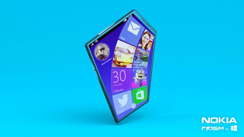 Prismatic Concept Phones