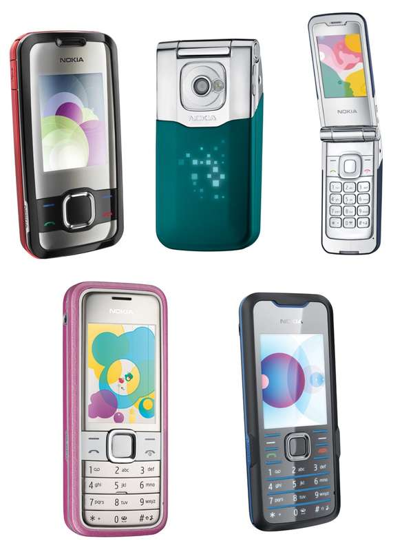 Fashion Phones in Brilliant Colours