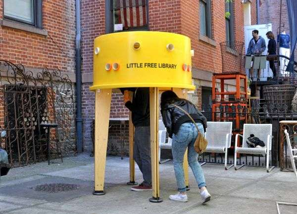 Nolita Little Free Library