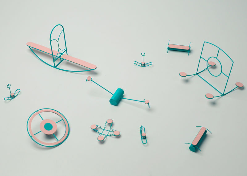 Linear Playground Equipment