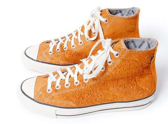 Cowhide High Tops