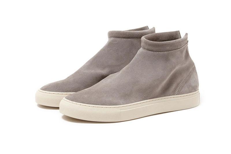 Streamlined Suede Sneakers