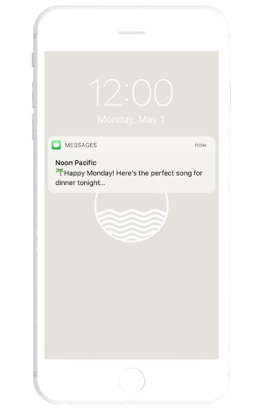 Text-Messaged Music Subscriptions