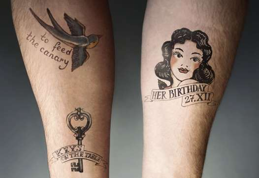 Tattooed Memo Marketing